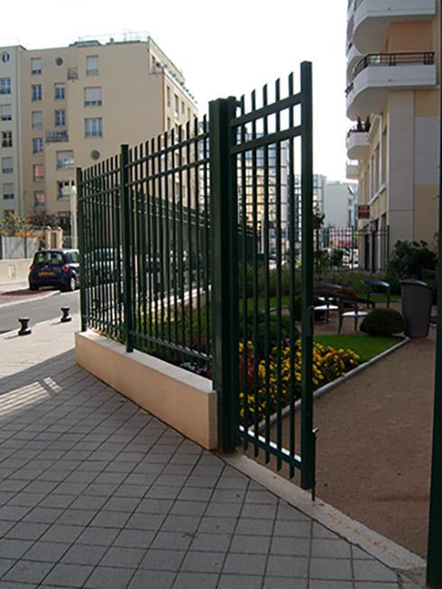 Square Danton à Montrouge aménagement d'un jardin public