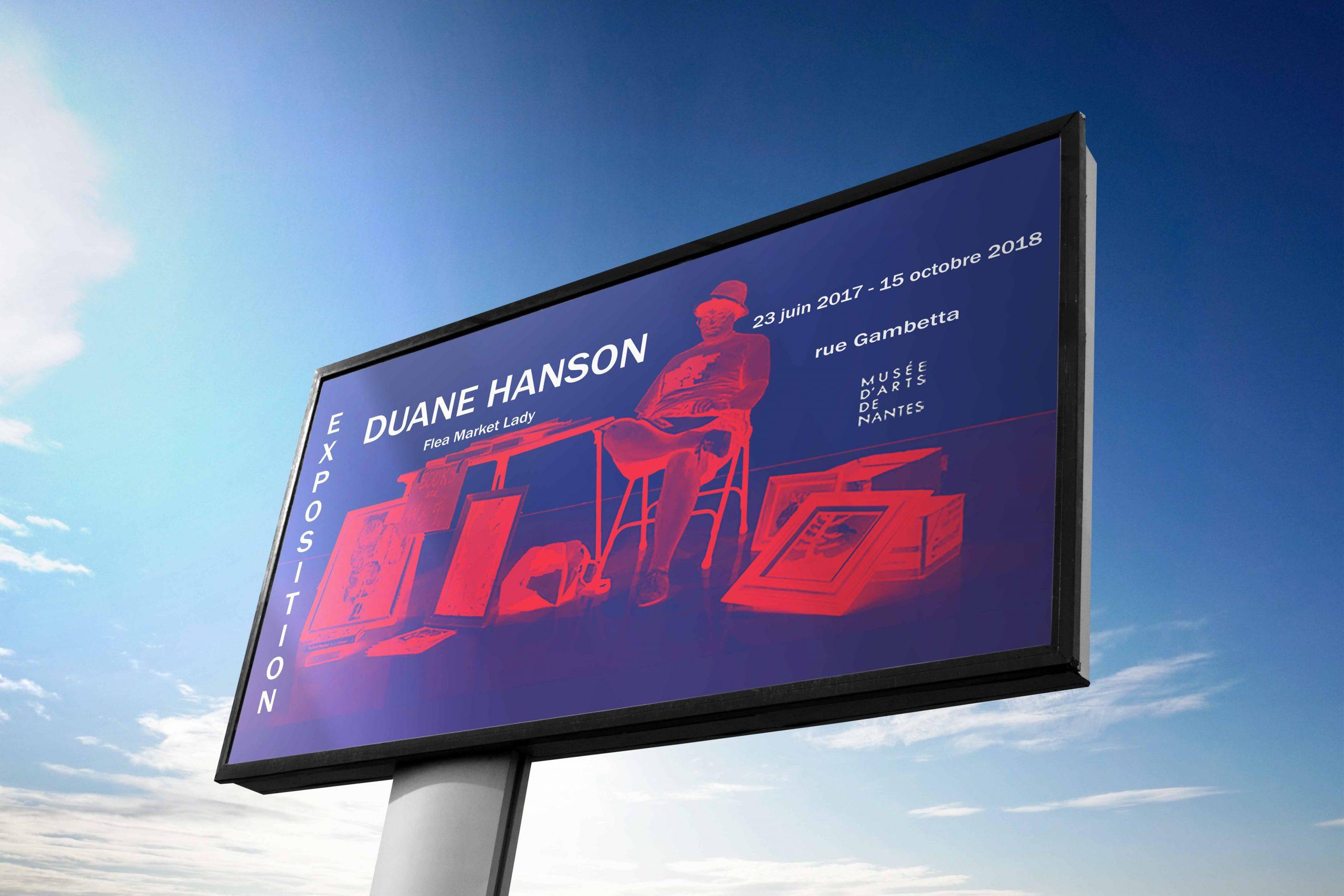 Affiche Duane Hanson
