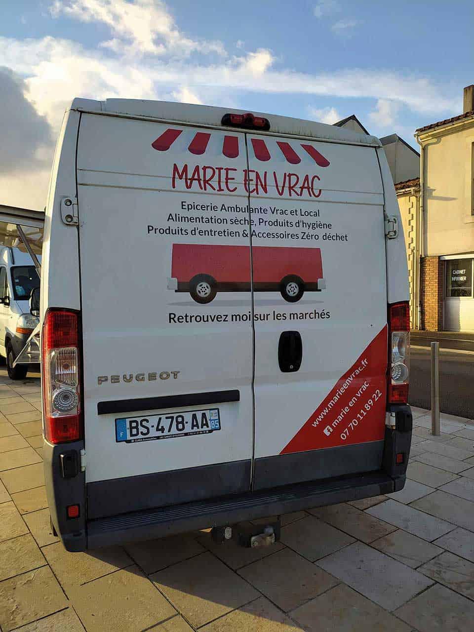 Camion Marie en Vrac
