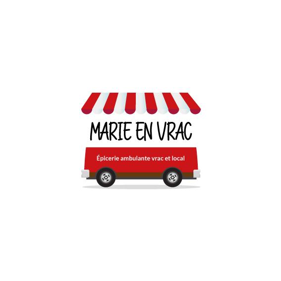 Marie en Vrac portfolio conception web et graphique