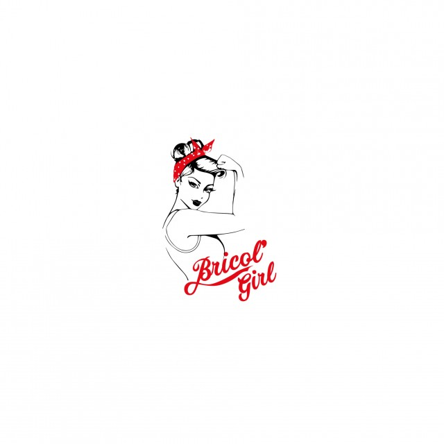 Bricol'Girl portfolio conception web et graphique