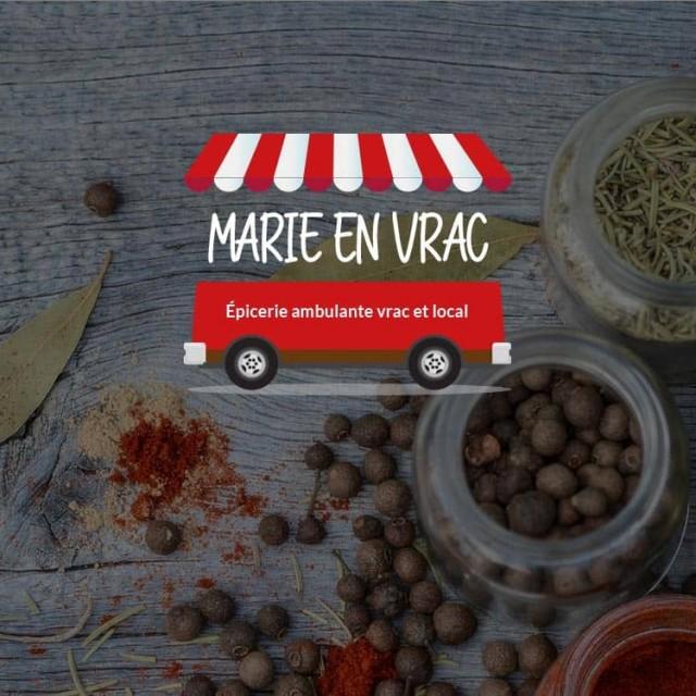 Présentation site e-commerce Marie en Vrac