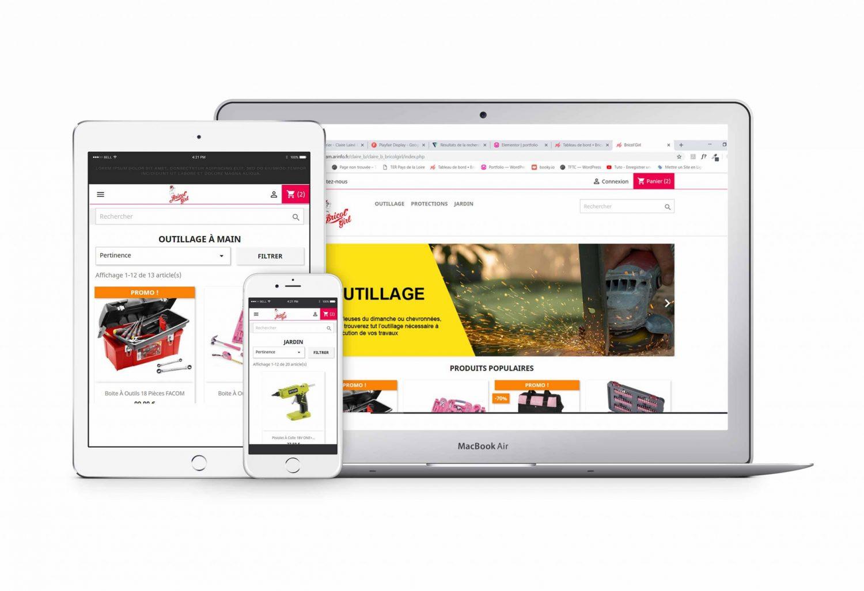 Bricol'girl site e commerce